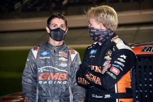 Tyler Ankrum, GMS Racing, Chevrolet Silverado Liuna!, Zane Smith, GMS Racing, Chevrolet Silverado MRC Construction
