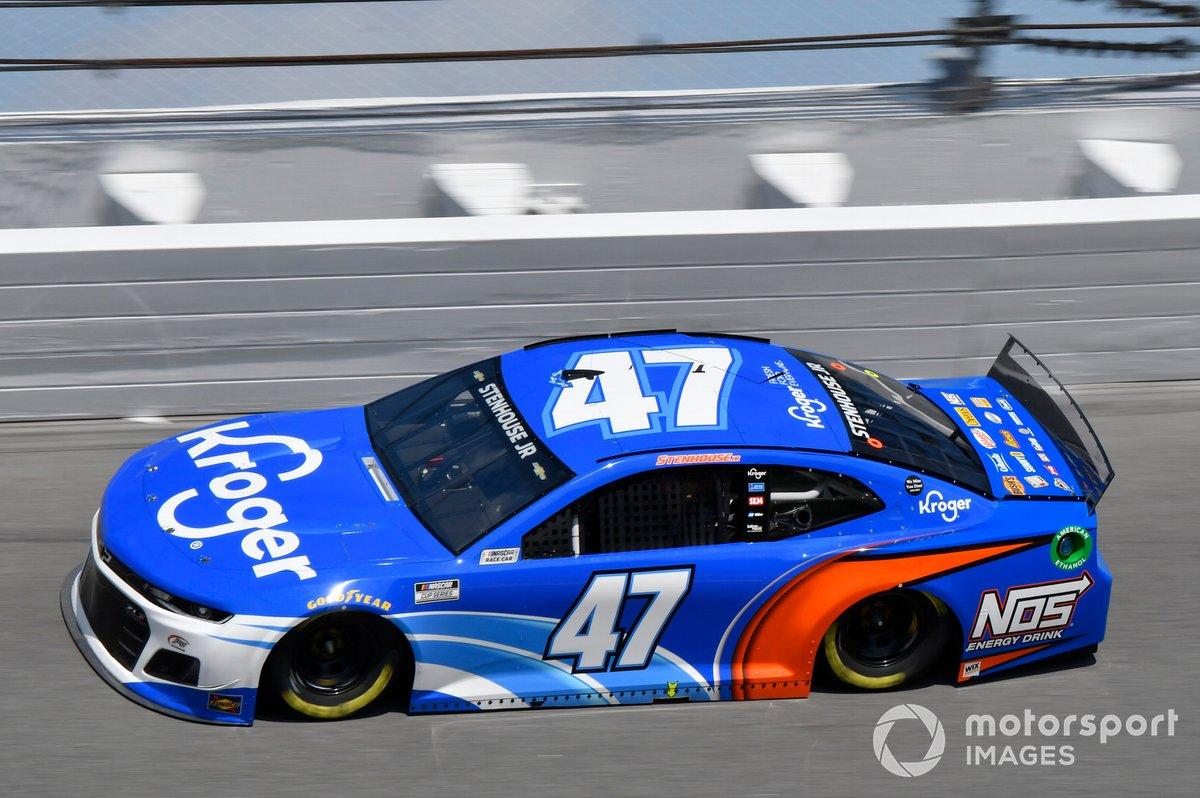#47: Ricky Stenhouse, JTG Daugherty Racing, Chevrolet Camaro