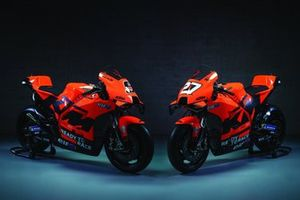 Bikes of Danilo Petrucci, Red Bull KTM Tech 3 and Iker Lecuona, Red Bull KTM Tech 3