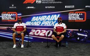 Antonio Giovinazzi, Alfa Romeo and Kimi Raikkonen, Alfa Romeo