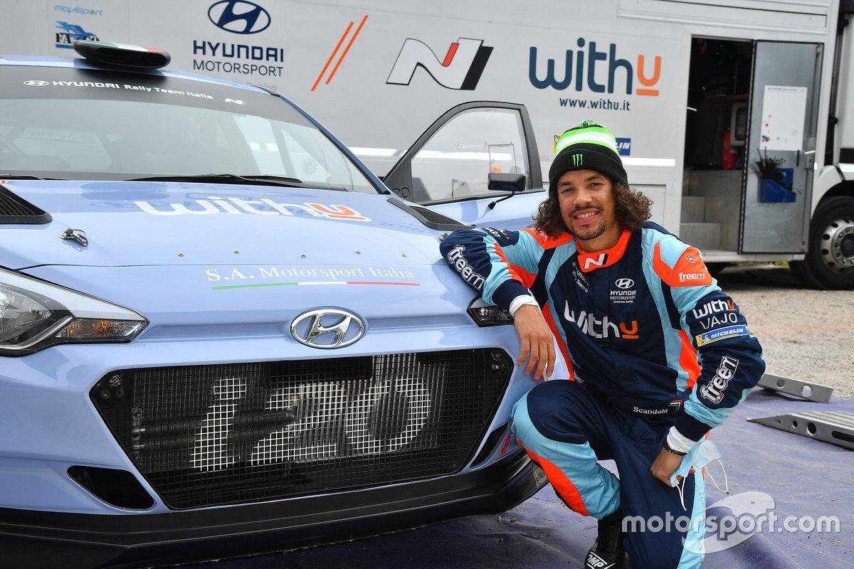 Franco Morbidelli, WithU Motorsport Hyundai i20 R5