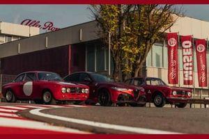 Inedita Alfa Romeo Giulia GTA