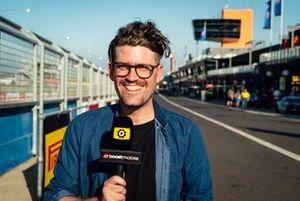 Motorsport.com journalist Andrew van Leeuwen