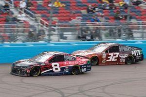 Tyler Reddick, Richard Childress Racing, Chevrolet Camaro I Am Second, Corey LaJoie, Go FAS Racing, Ford Mustang Pala Casino