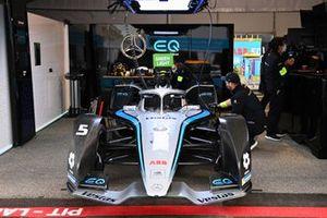 The car of Stoffel Vandoorne, Mercedes Benz EQ, EQ Silver Arrow 02