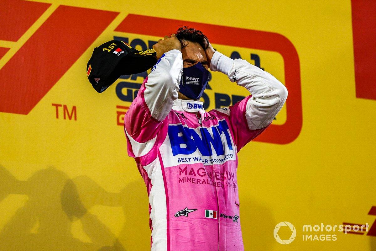 Más carreras disputadas antes de la primera victoria (190): Sergio Pérez, Racing Point (GP de Sakhir)