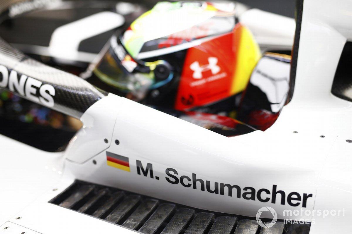 Mick Schumacher, Haas F1, nel cockpit