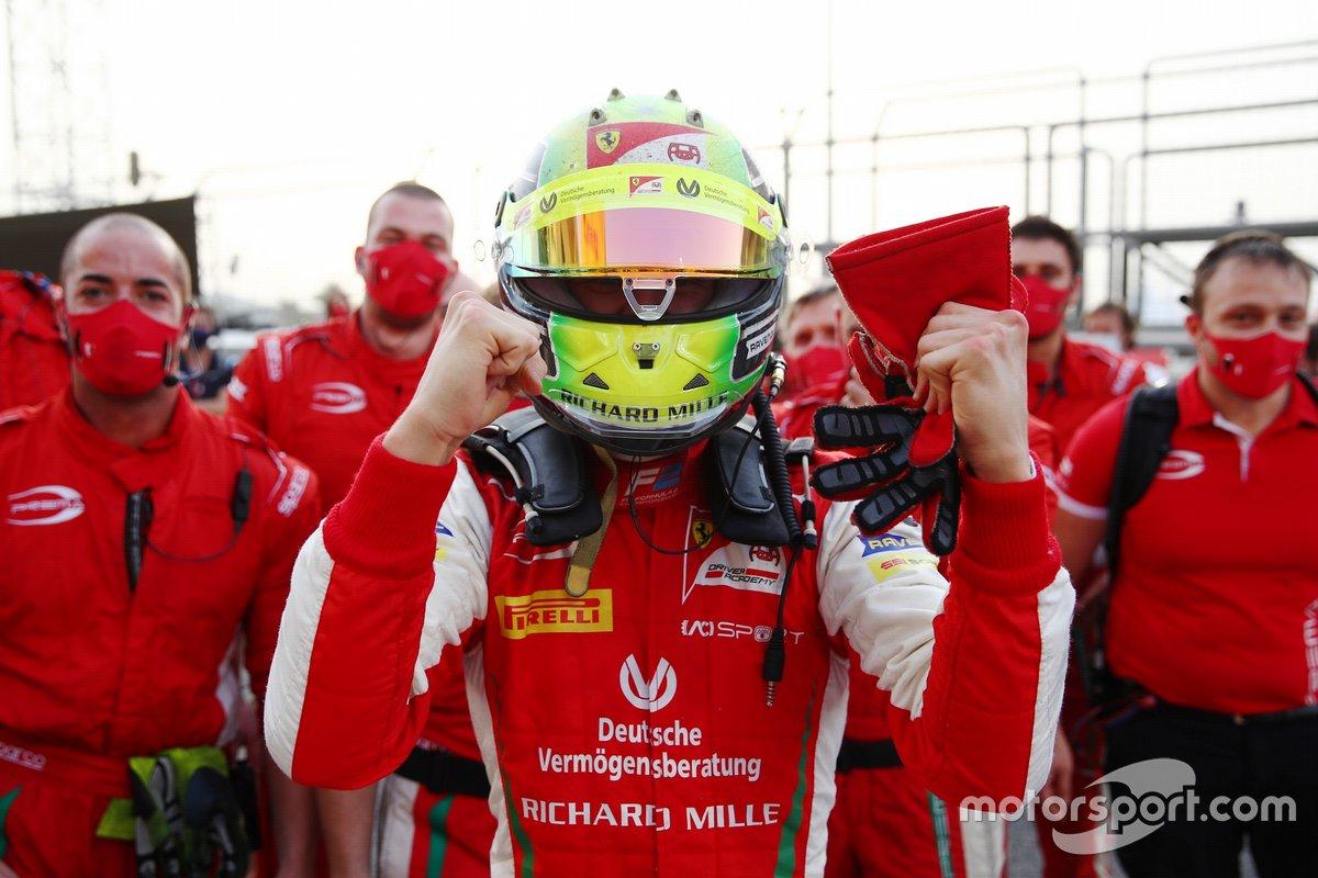 Il campione di F2 Mick Schumacher, PREMA Racing