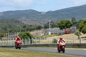 Marc Marquez, Repsol Honda Team, Francesco Bagnaia, Ducati Team