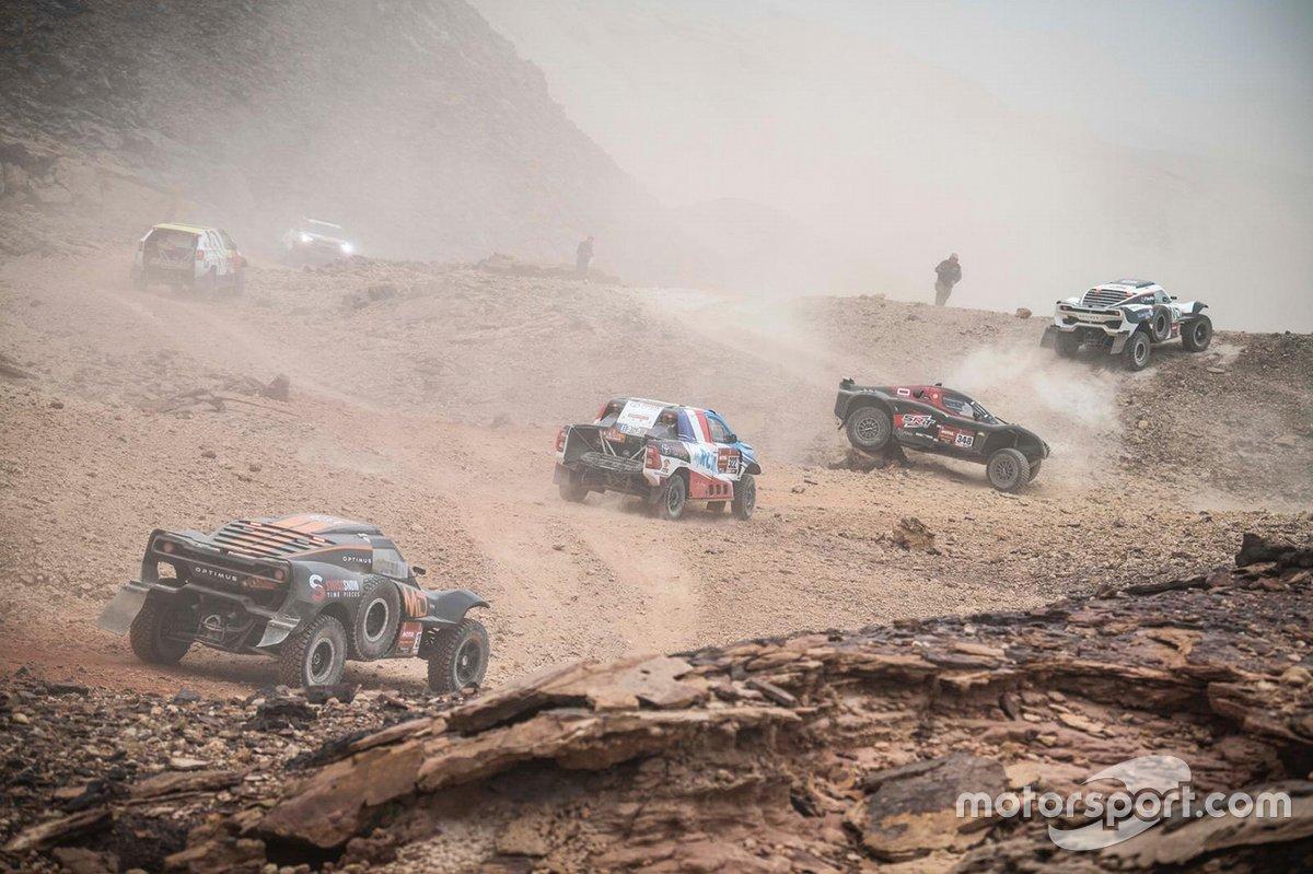 Embouteillage dans le désert
