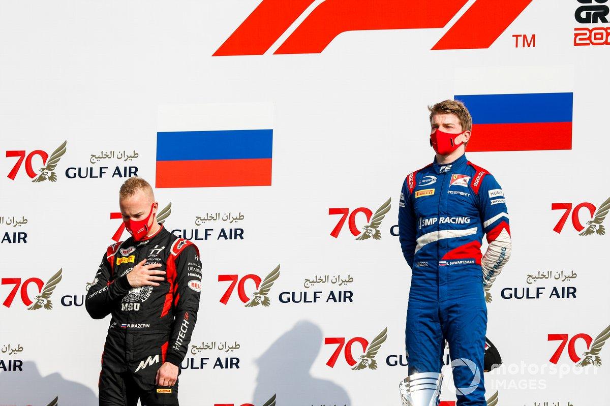Robert Shwartzman, Prema Racing y Nikita Mazepin, Hitech Grand Prix