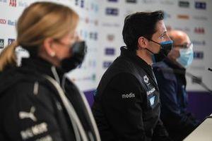 Ian James, Team Principal, Mercedes-Benz EQ, en conférence de presse