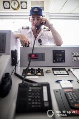 Personeel in The St Helena Bridge