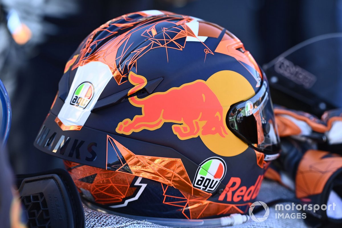 Casco de Pol Espargaro, Red Bull KTM Factory Racing