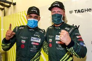 Pole GTE Pro: #95 Aston Martin Racing Aston Martin Vantage AMR: Marco Sorensen, Nicki Thiim