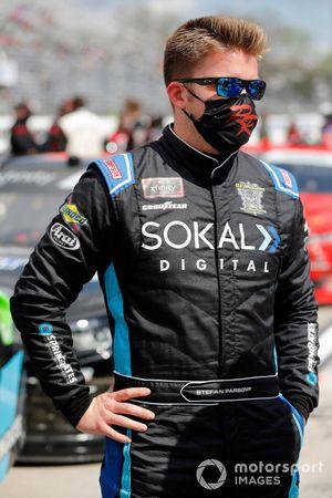 Stefan Parsons, B.J. McLeod Motorsports, Toyota Supra SOKAL Digital