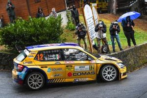 Tommaso Ciuffi, Nicolò Gonella, Balbosca, Skoda Fabia Rally2 Evo