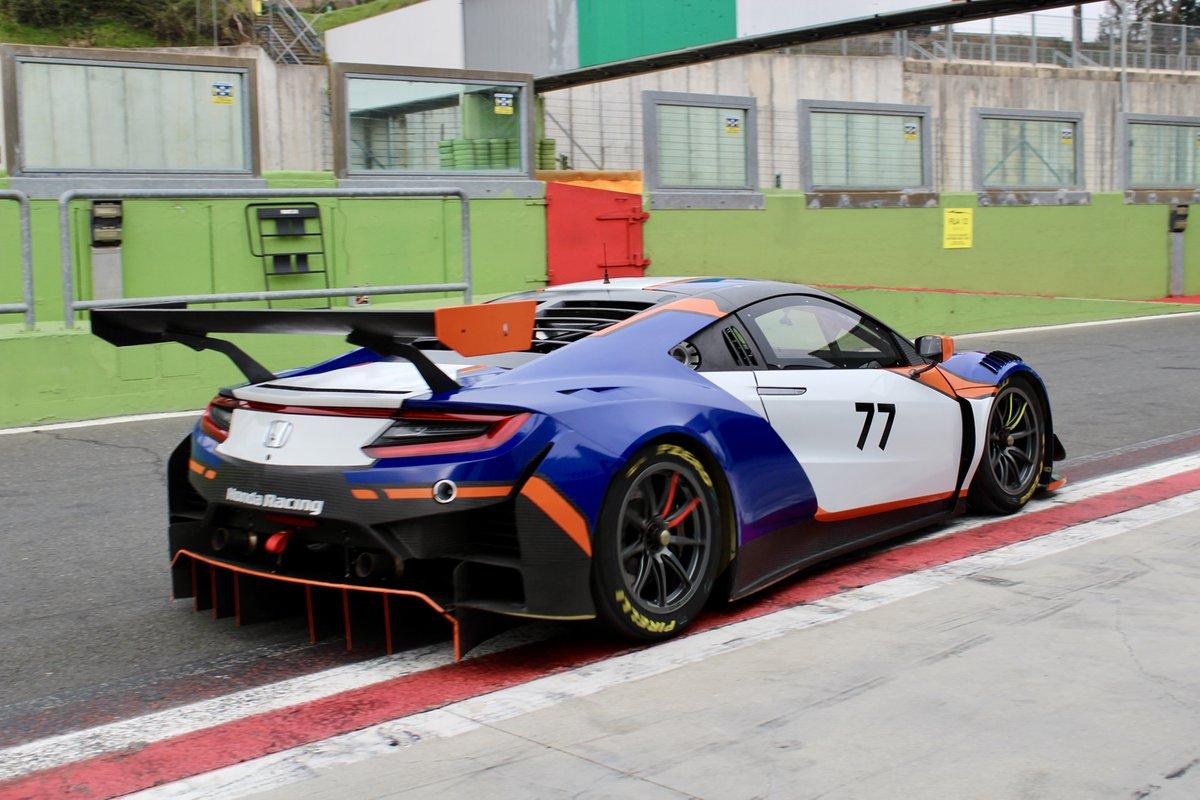 Francesco Massimo De Luca, Nova Race, Honda NSX GT3 Evo