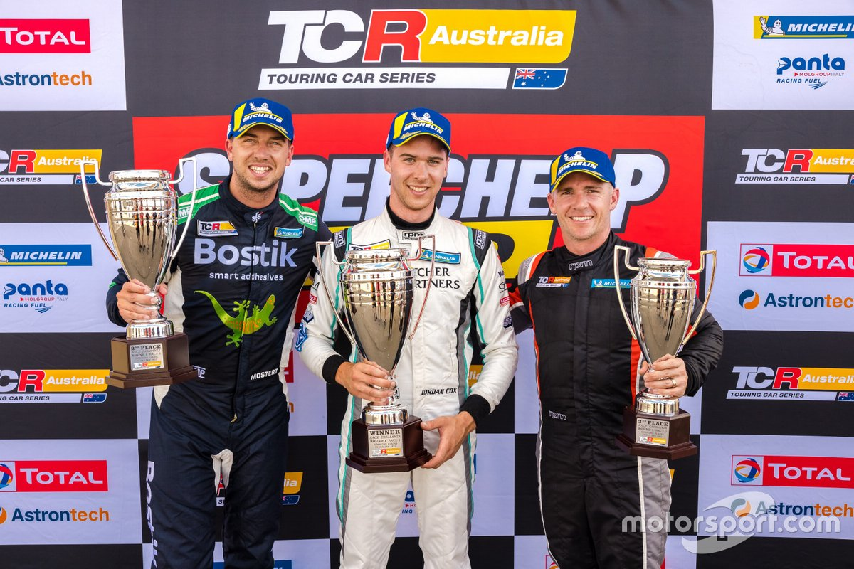 Jordan Cox, Gary Rogers Motorsport, Chaz Mostert, MPC Bostik Racing, Lee Holdsworth, Ash Seward Motorsport
