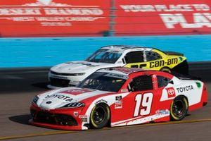 Brandon Jones, Joe Gibbs Racing, Toyota Supra Toyota, Alex Labbe, DGM Racing, Chevrolet Camaro Can-Am