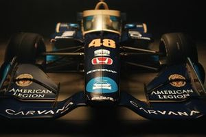 Indycar livery of Jimmie Johnson, Chip Ganassi Racing