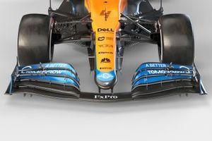 Detail voorkant McLaren MCL35M