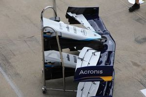 Williams FW43B front wing
