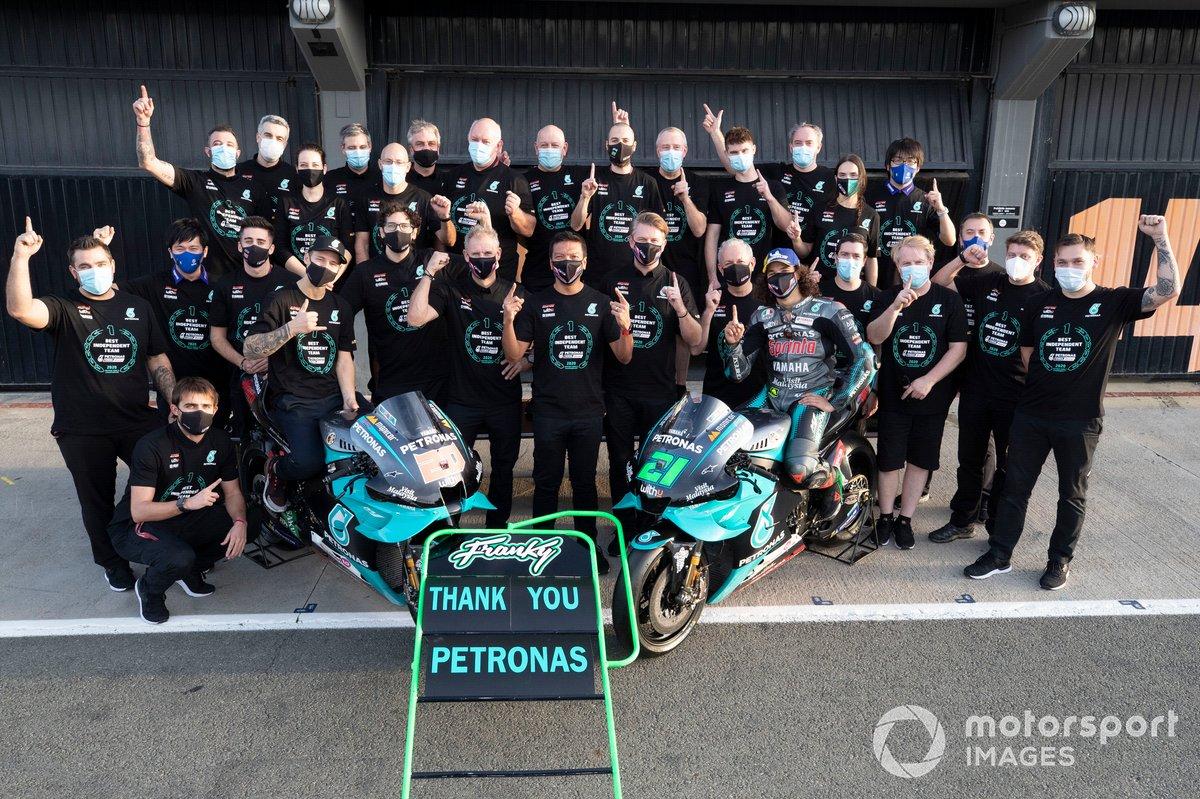 Fabio Quartararo, Petronas Yamaha SRT Franco Morbidelli, Petronas Yamaha SRT