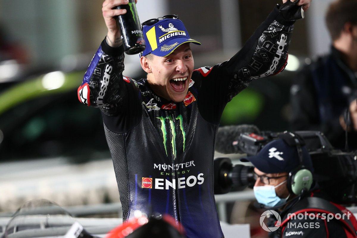 Ganador Fabio Quartararo, Yamaha Factory Racing