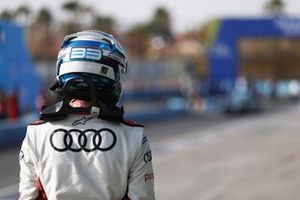 Rene Rast, Audi Sport ABT Schaeffler, walks away after qualifying