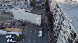 Una casa victoriana sobre un trailer en San Francisco