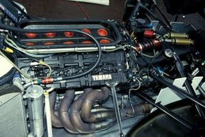 Yamaha engine in a Tyrrell 022