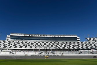 Haupttribüne am Daytona International Speedway