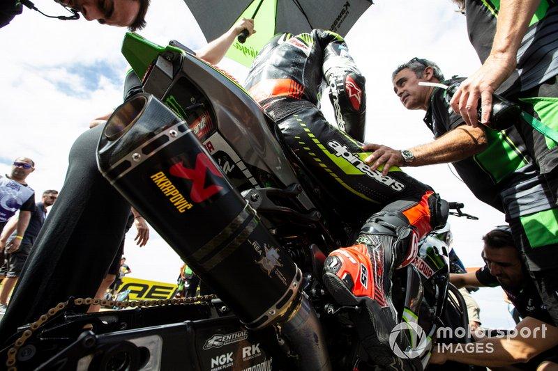 Jonathan Rea, Kawasaki Racing Team, mit Pere Riba