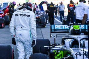Обладатель третьего места Льюис Хэмилтон, Mercedes AMG F1 W10