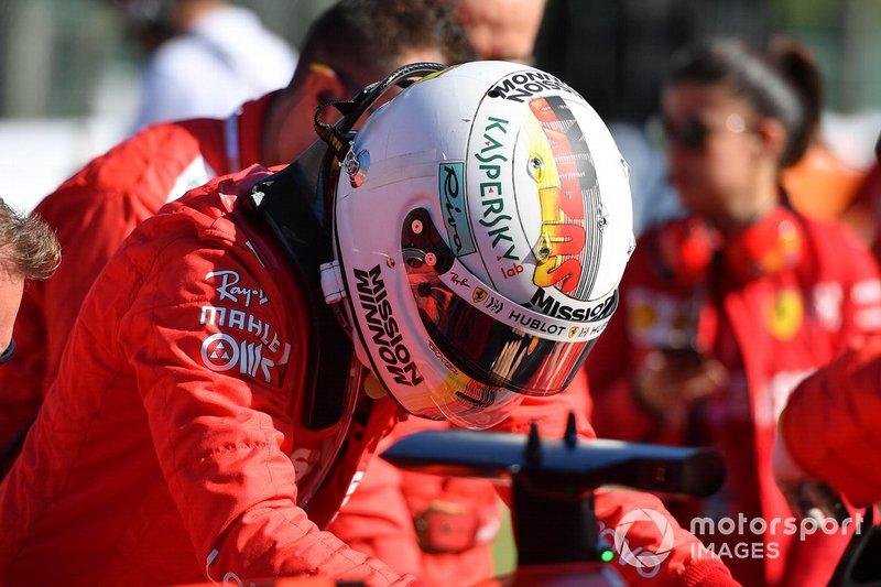 Sebastian Vettel, Ferrari: 7 puan