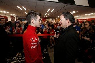 James Allen interviews Charles Leclerc, Ferrari