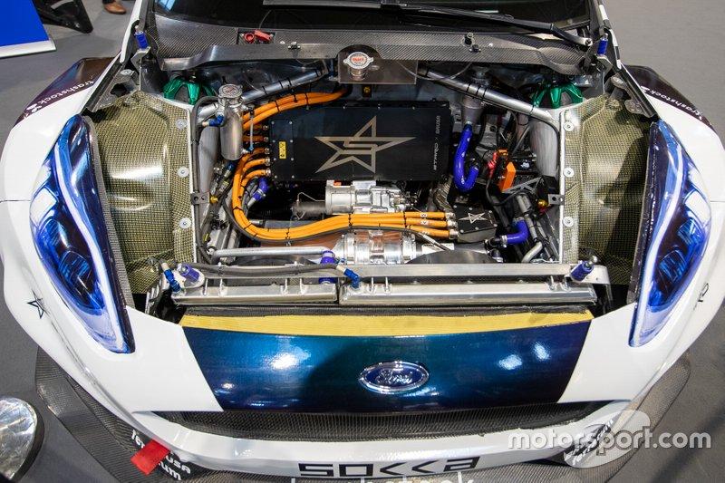Electric Ford Fiesta WRX