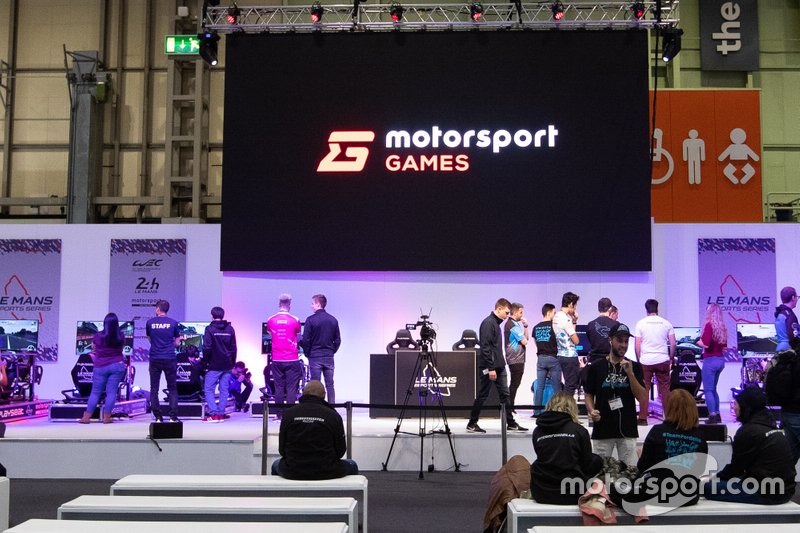 Motorsport games area