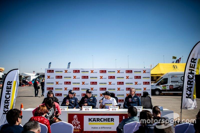 Karcher Press Conference