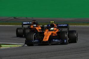 Ландо Норрис и Карлос Сайнс, McLaren MCL34