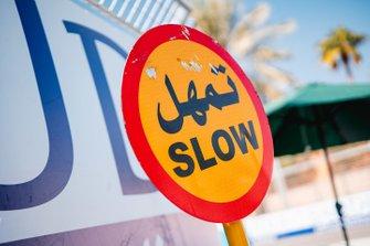 Señal lenta velocidad