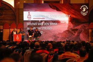 Mitchel Van den Brink Mammoet Rallysport, Jean-Pierre Strugo, MD Rallye Sport, Carlos Sainz, JCW X-Raid Team