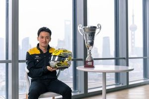 Guanyu Zhou, UNI-Virtusi F2 driver and Renault Sport Academy, back to Shanghai