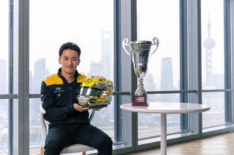 Guanyu Zhou, UNI-Virtusi F2 driver and Renault Sport Academy, back to Shanghai