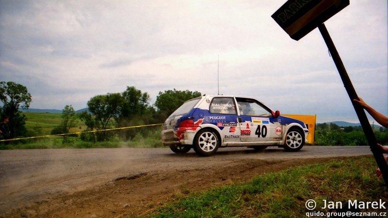 Jacek Jerschina, Andrzej Białowąs, Peugeot 106 Kit Car, Rajd Polski 1998