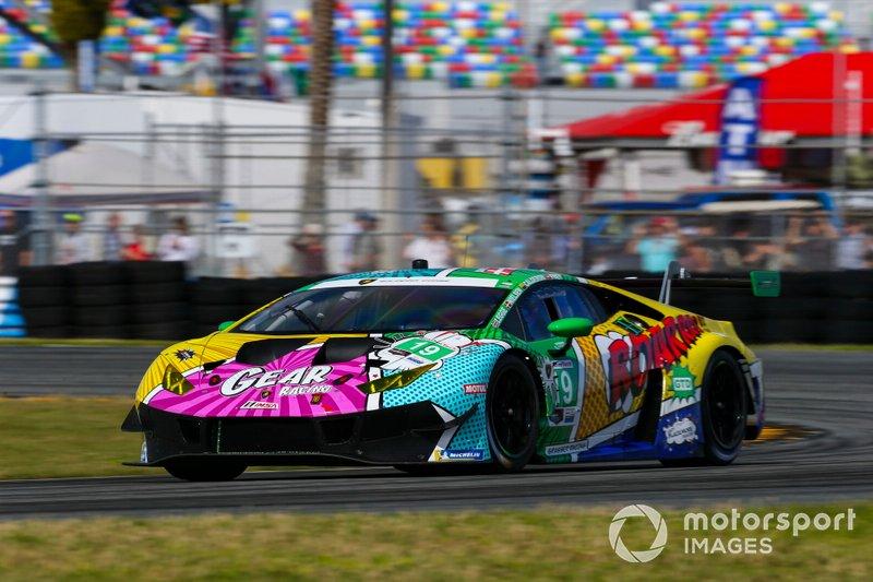 El Lamborghini Huracan GT3 de Tatiana Calderón en las 24 Horas de Daytona 2020