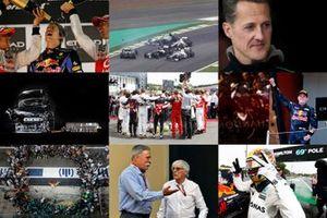 Momentos de la década en F1