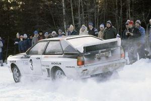 Hannu Mikkola, Arne Hertz, Audi Quattro A1
