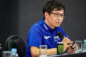 Rueda de prensa de Yamaha